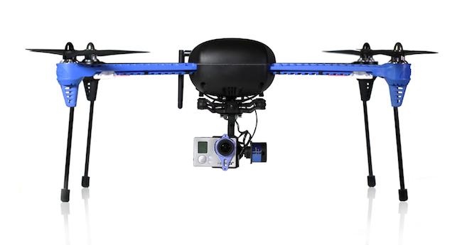 3DR Iris+ kuvauskopteri GoProlle
