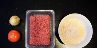 Bulkkiruokaa - jauheliha-riisi