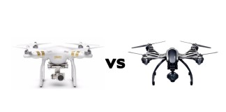 DJI Phantom 3 vs. Yuneec Typhoon Q500 4K