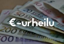 €-urheilu - rahanteko