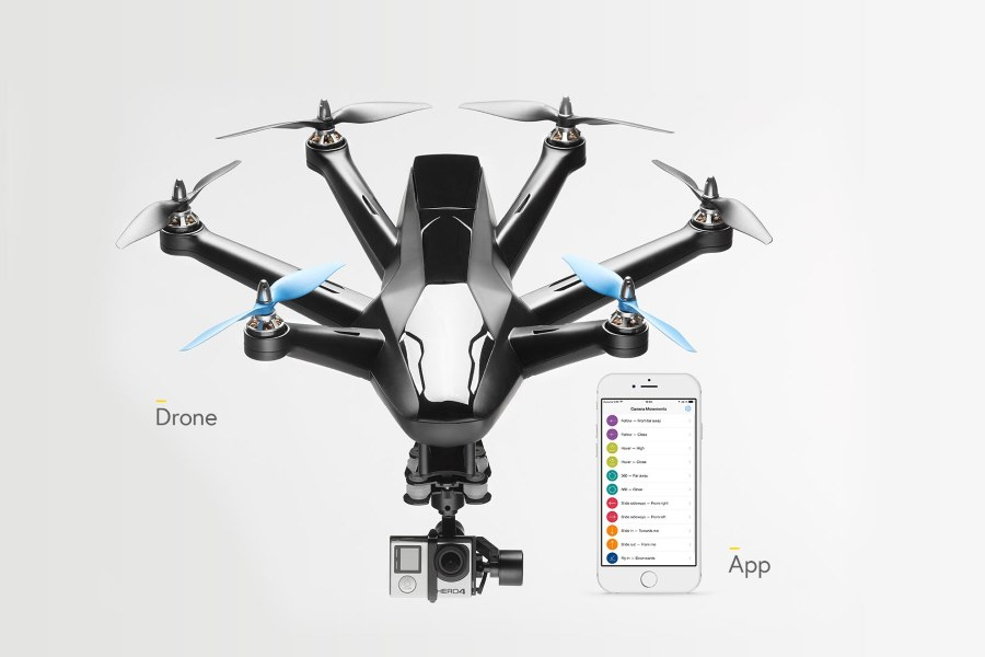 Hexo+ selfie drone