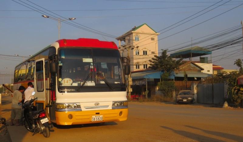 Siem Reapista Phnom Penhiin