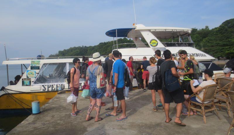 Speedboat Koh Rong