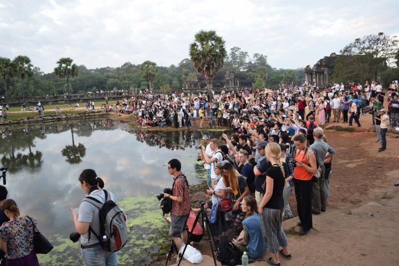 Angkor Wat valokuvaajat