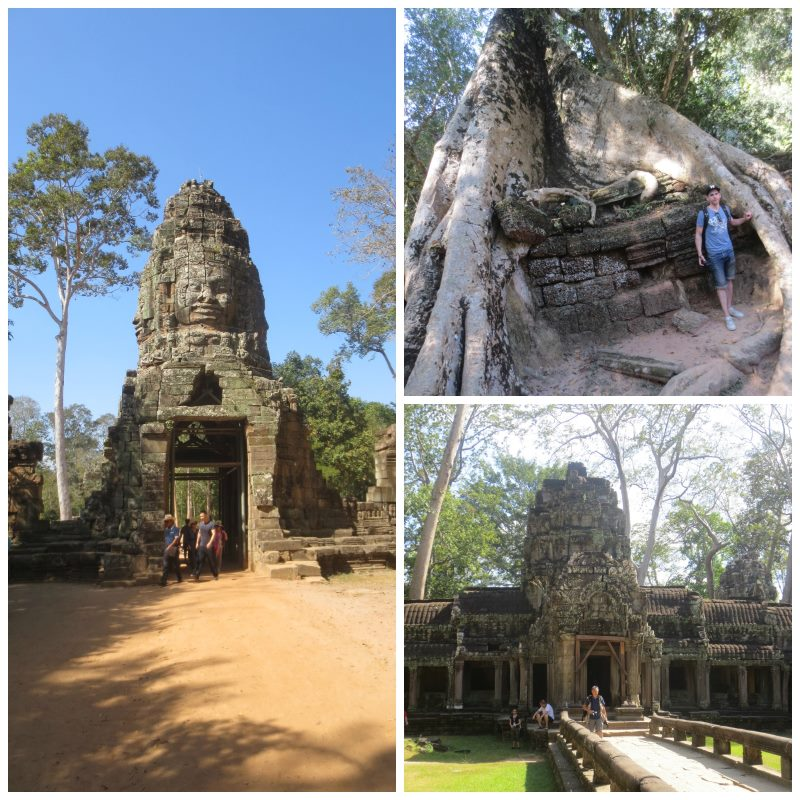 Ta Prohm Angkorissa