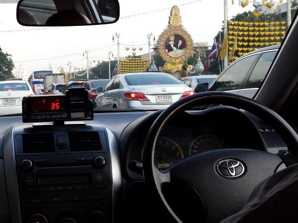 Bangkok taksi