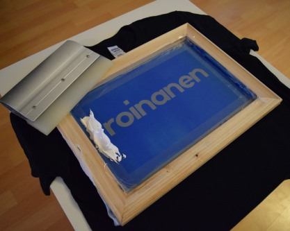 Screenprinting -raami