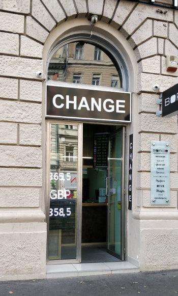 budapest valuutta