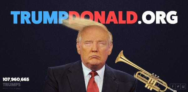 TrumpDonald viraalimainos
