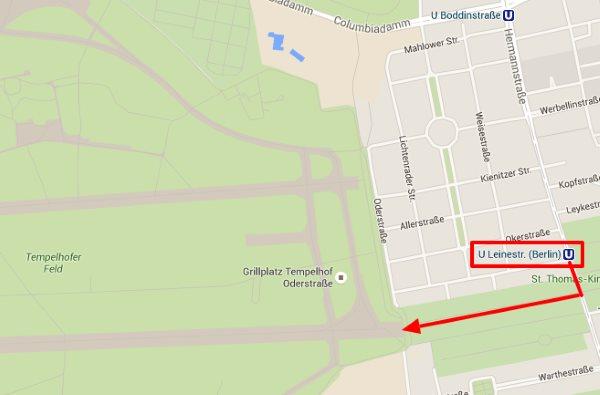 Tempelhofin kentälle