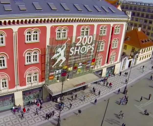 Praha ostokset