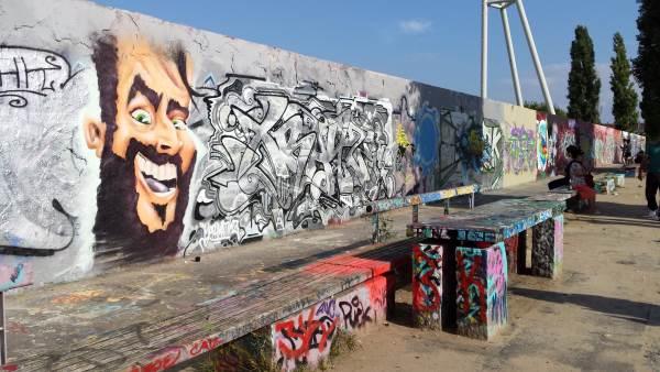 Mauerpark muuri