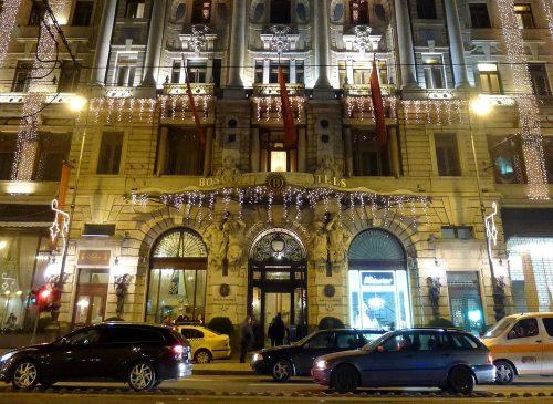 Budapest hotellit