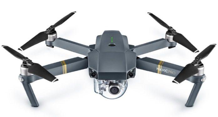 DJI Mavic kuvauskopteri