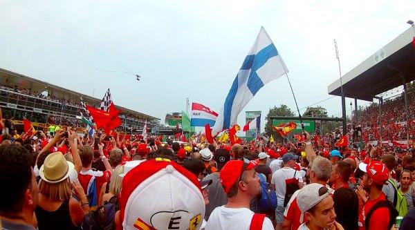 Monza F1 palkintojenjako