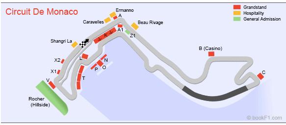 Monaco F1 liput