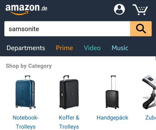 Samsonite matkalaukut netistä
